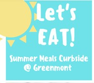 Summer Meals are Available at Greenmont Elementary School on Mondays and Thursdays