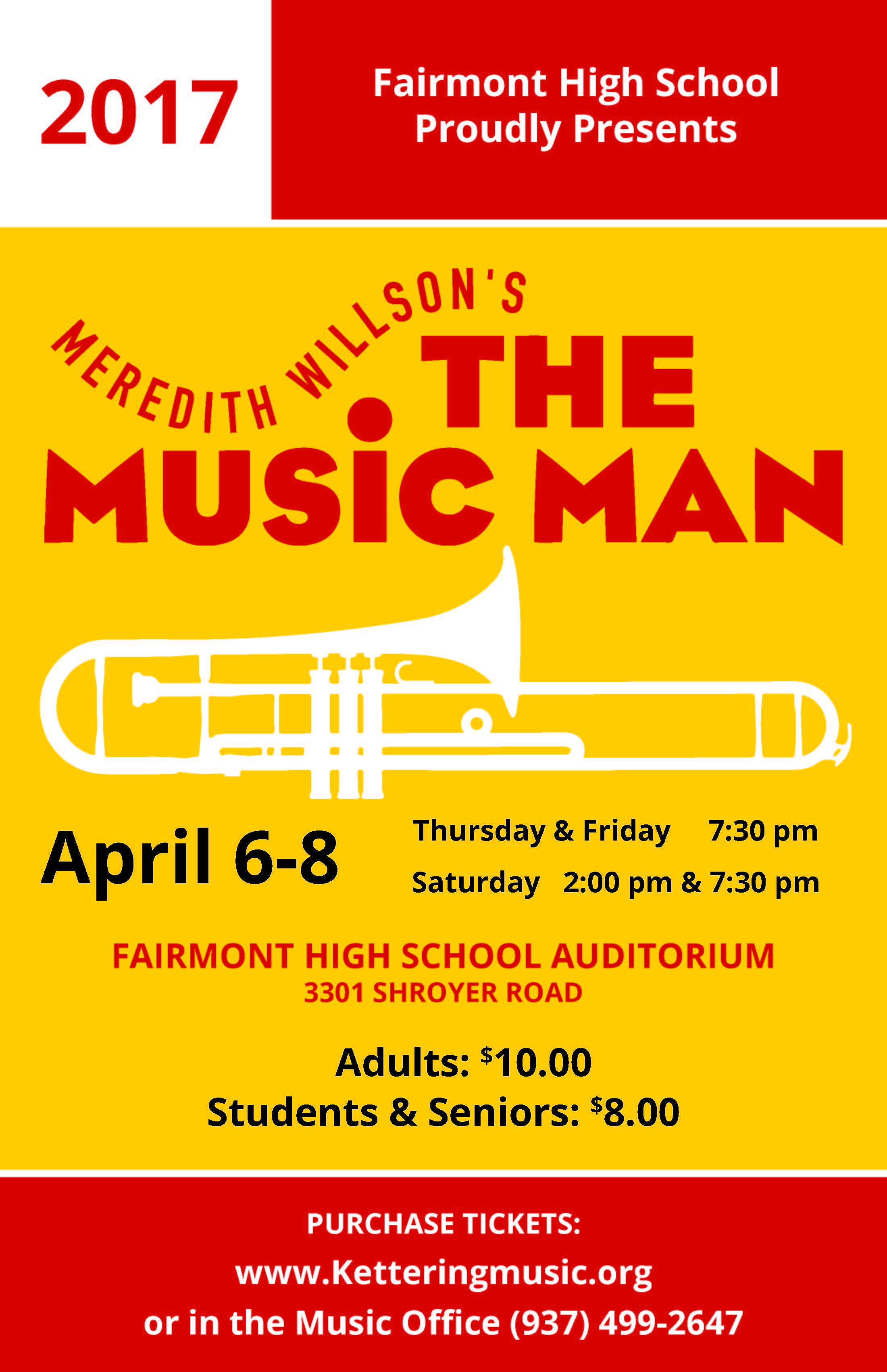'The Music Man,' Presented April 6, 7 and 8